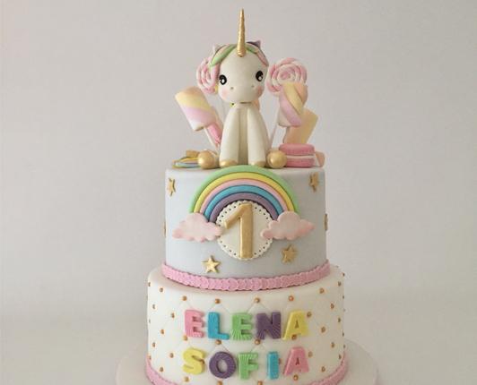 Torta Unicorno Compleanno A Tema Unicorno Speciale E