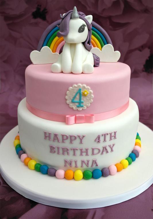 Torta Effetto Trapunta Tutorial.Torta Unicorno Compleanno A Tema Unicorno Speciale E Divertente