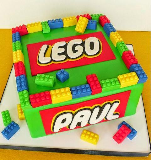 Torta Lego con set decorazione
