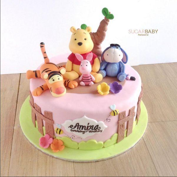 Torta winnie the pooh 10 originalissime ricette di pooh e i suoi amici - Winnie pooh kuchen deko ...