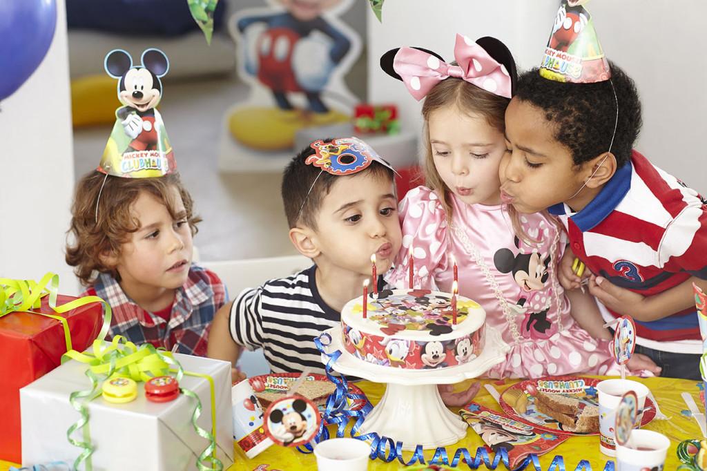 festa di compleanno topolino