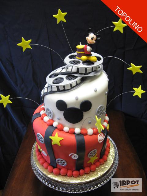 abbastanza Torta Topolino | 10 ricette dalla Casa di Topolino Disney AZ84