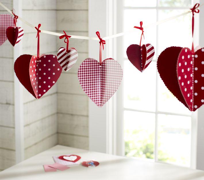 Decorazioni san valentino idee romantiche per addobbare - San valentino decorazioni ...