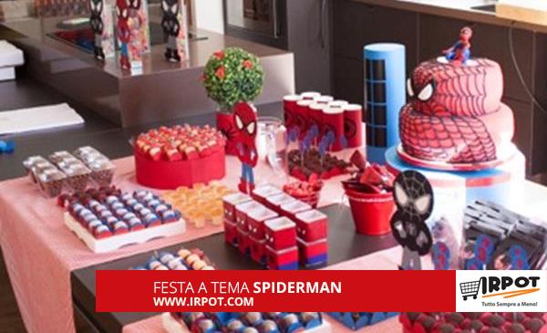 Decorazioni Per Feste Di Compleanno Bambini Fai Da Te : Idee per festa di compleanno a tema spiderman