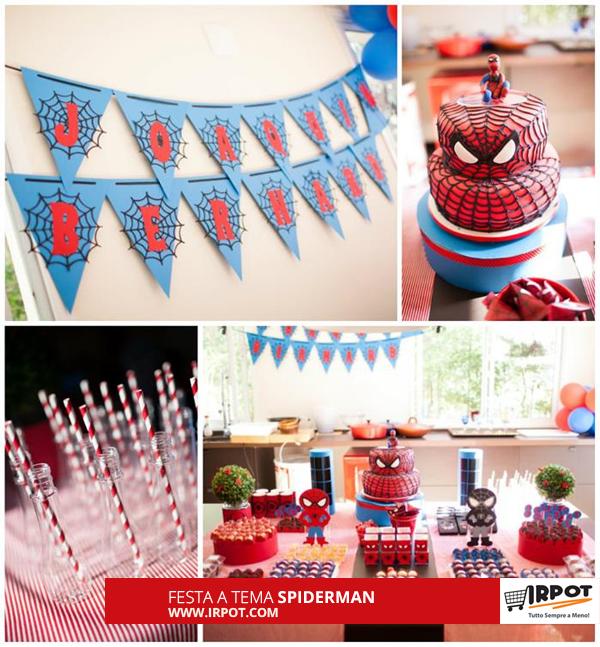 Favoloso Idee per festa di compleanno a tema Spiderman VR44
