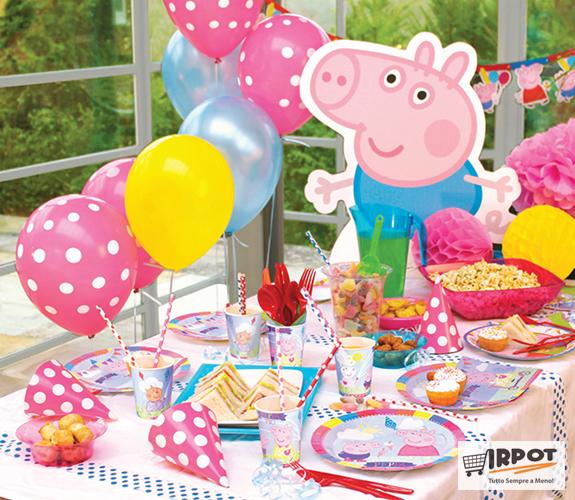 Scegli lo stile di un compleanno Peppa Pig