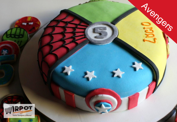 Compleanno A Tema Avengers