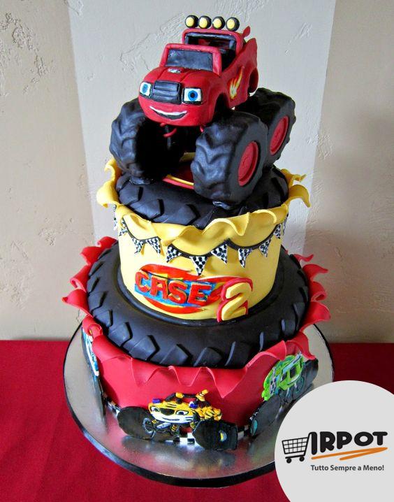 Torta blaze e le mega macchine 10 torte di monster truck for Immagini di blaze