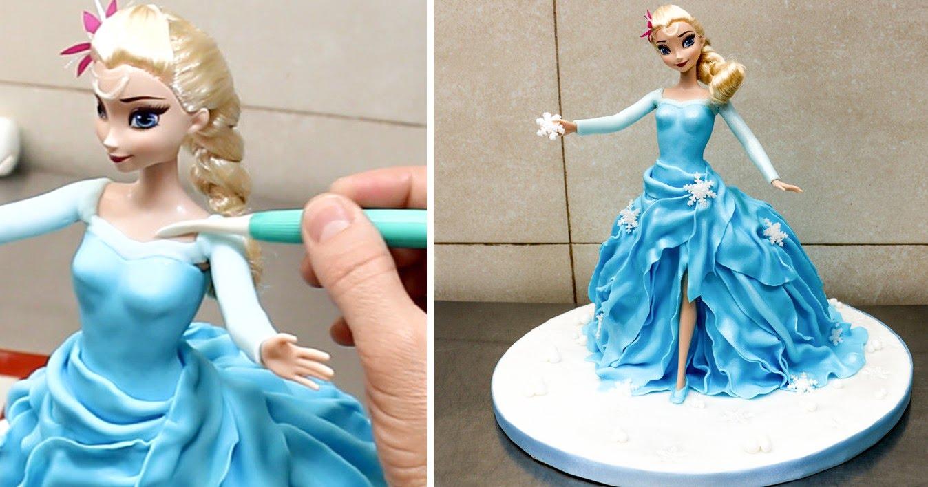 Torta Elsa 10 Torte Della Principessa Frozen