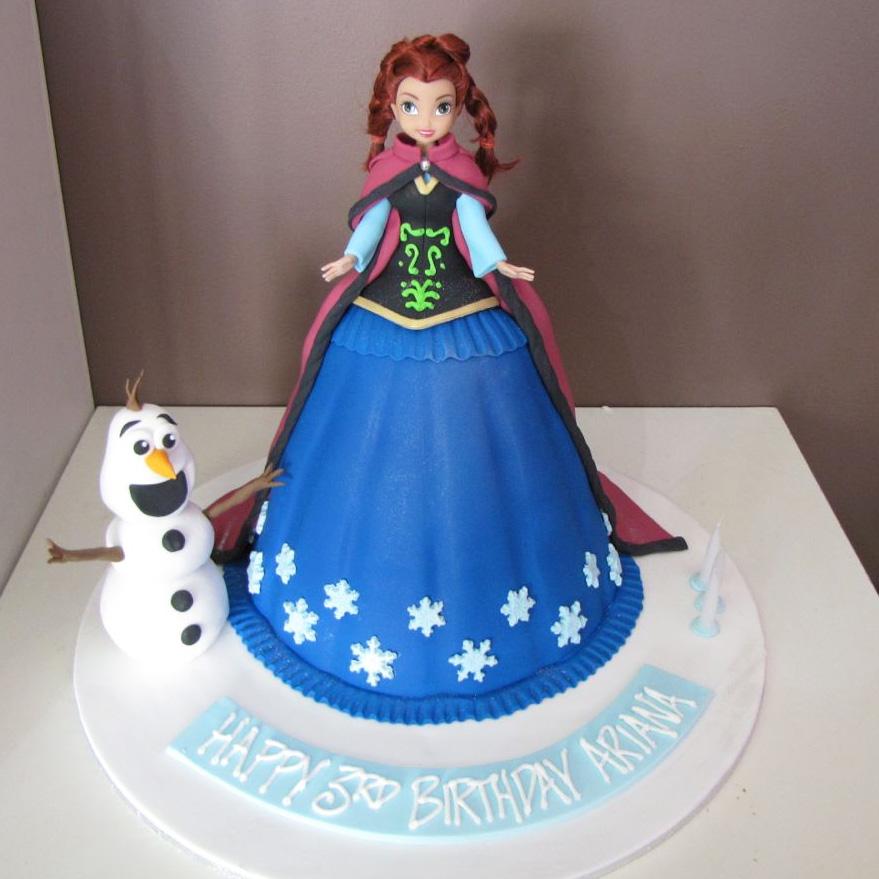 Torta Frozen Le 10 Torte Pi 224 Belle In Pasta Da Zucchero