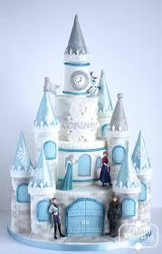 Torta Frozen Castello di Arendelle