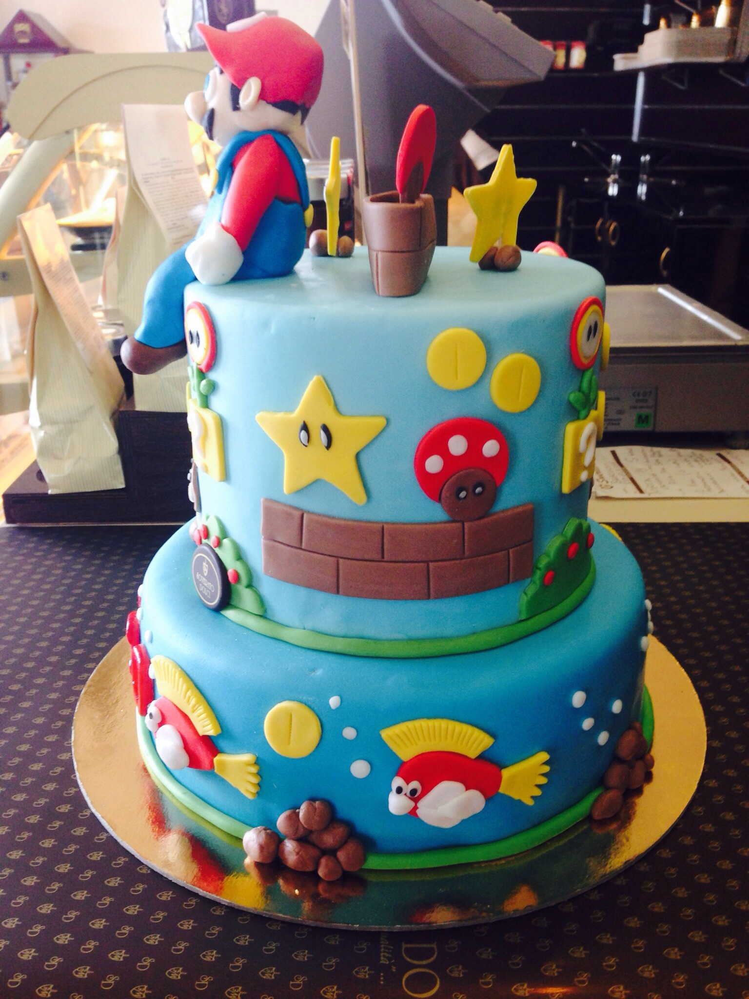 torta super mario bros guida per torte e dolci. Black Bedroom Furniture Sets. Home Design Ideas