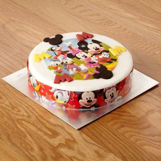 Supermarket Mickey Mouse Cake