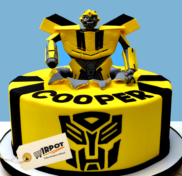 How To Decorate A Transformers Cake