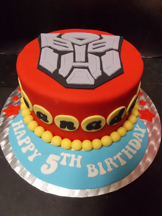 Torta Transformers 12 Torte Optimus Prime E Bumblebee