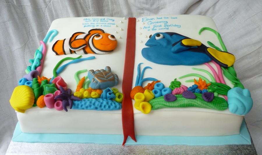 Torta Alla ricerca di Dory   10 ricette acquatiche di Dory e Nemo