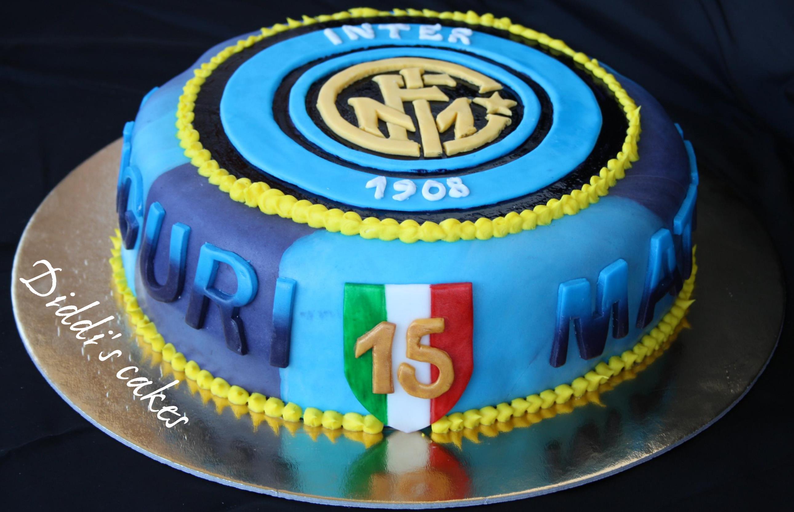 Torte interiste le torte per i veri tifosi nerazzurri for Cabina dell orso dello zucchero