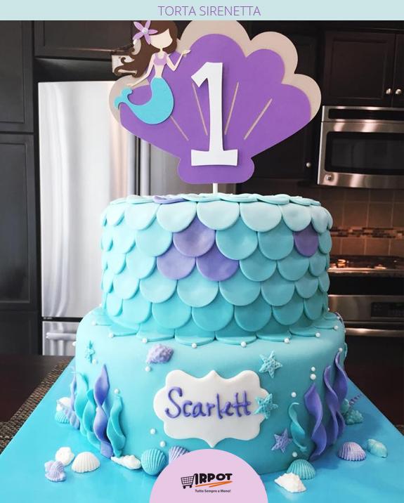 Matrimonio Tema Sirenetta : Torta sirenetta ariel le torte più belle della