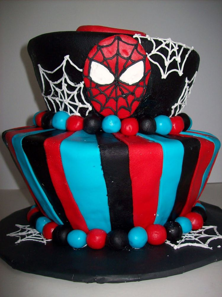 Torta Spiderman Venom