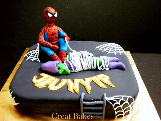 Torta Spiderman / Goblin