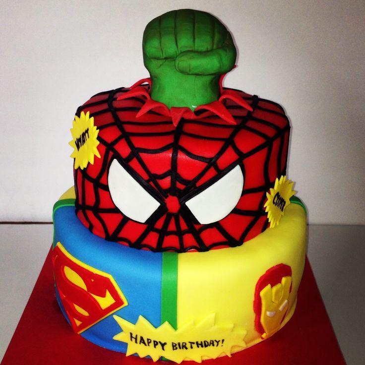 Torta Spiderman V Avengers