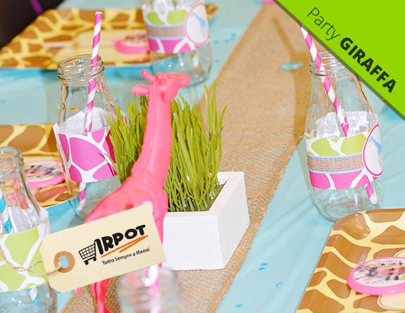 Decorazioni Buffet Fai Da Te : Party giraffa compleanno a tema giraffa
