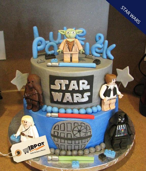 Ben noto Torta Star Wars | 10 ricette stellari XV71