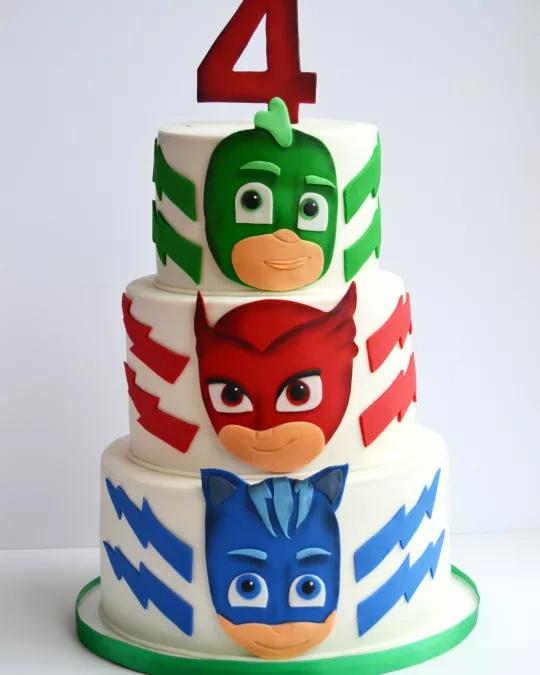 Torta Super Pigiamini 7 Ricette Pj Masks Cake